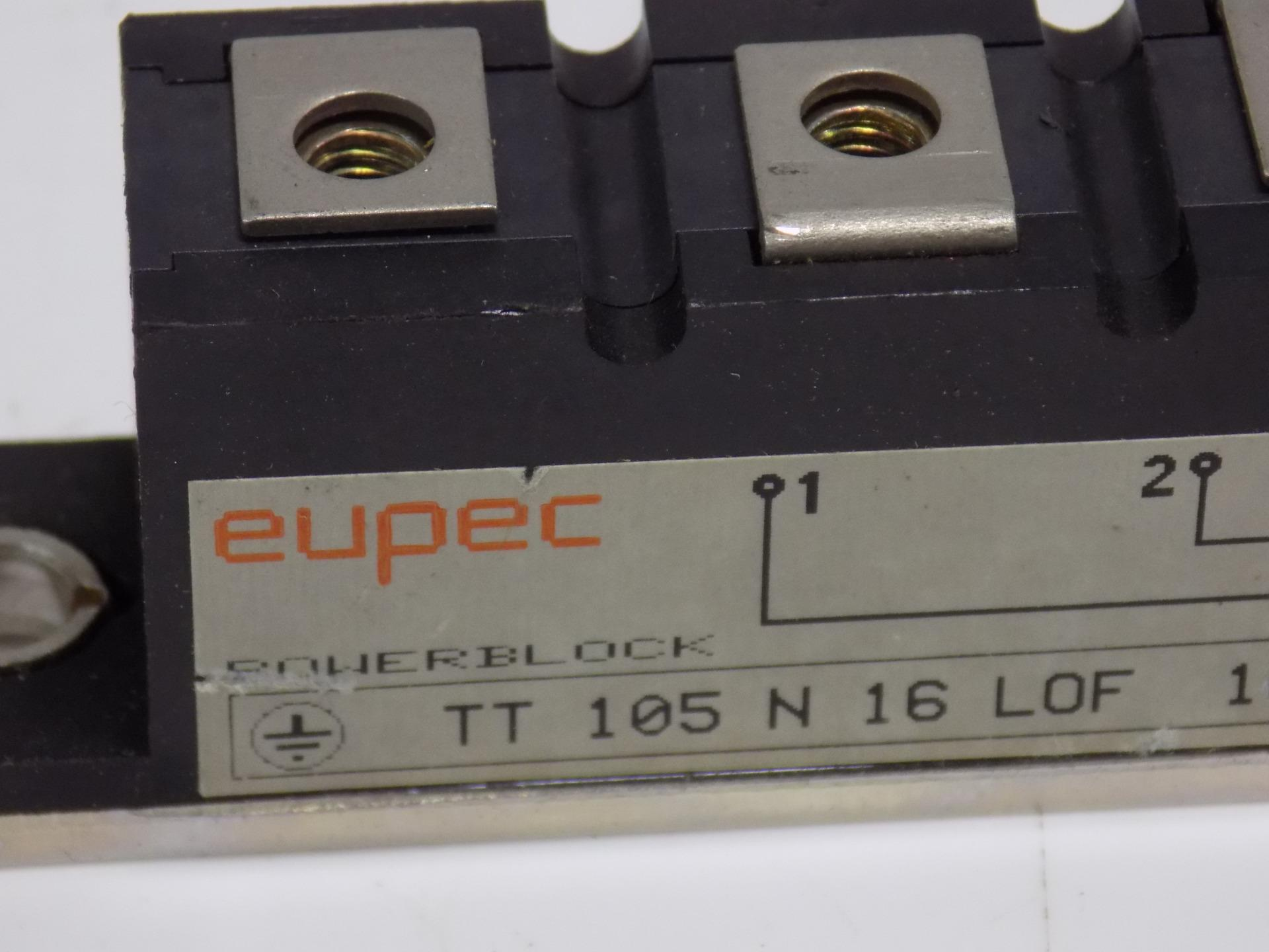 NEW MODULE  TT105N16LOF  EUPEC LOCATION M