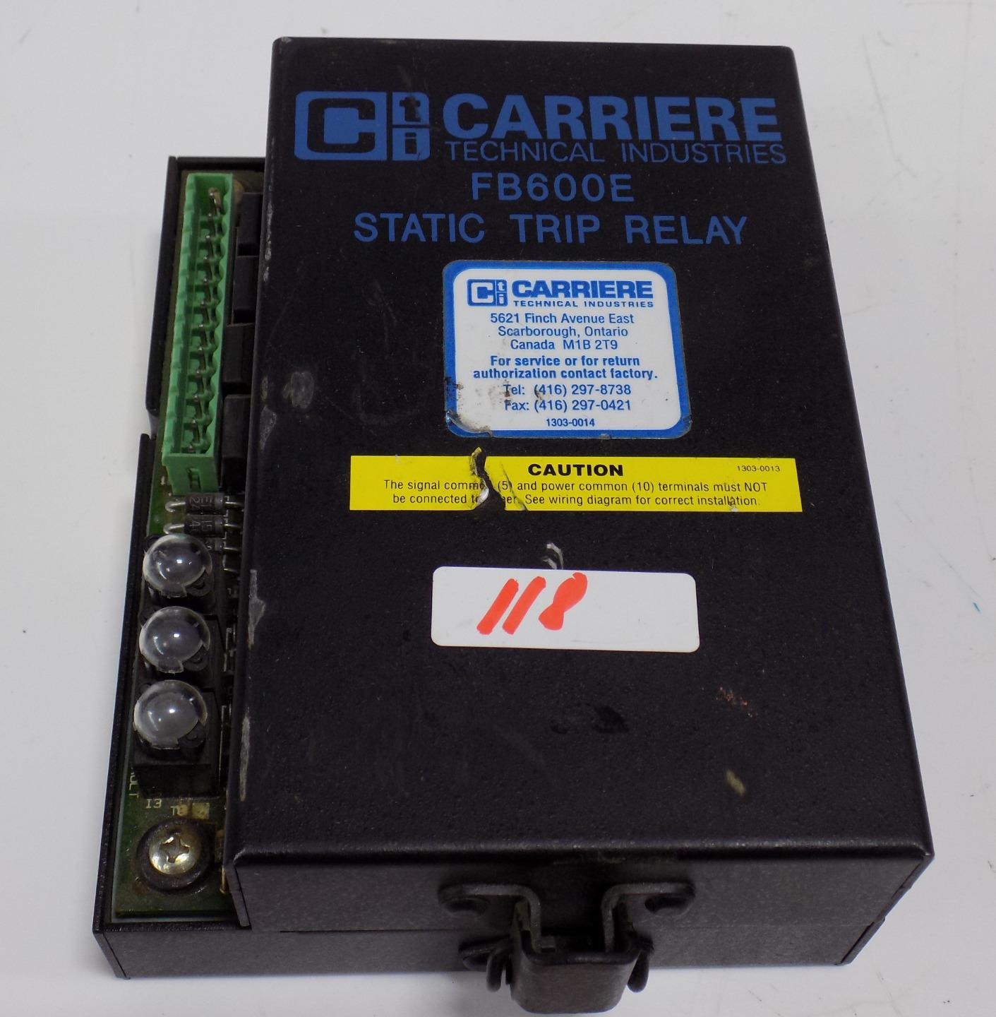 see wiring diagram of true rms circuit carriere true rms static trip relay fb600e ebay  carriere true rms static trip relay