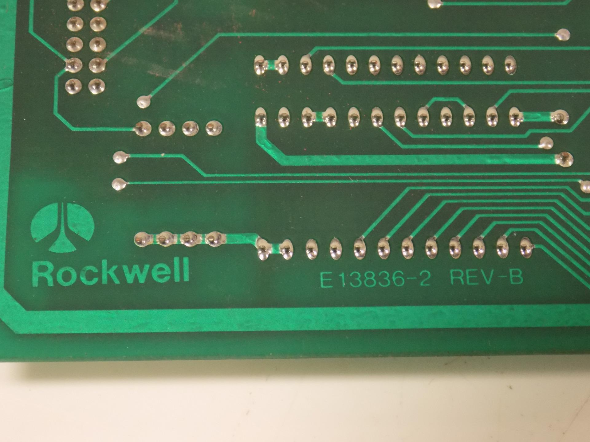 E8134 ROCKWELL GOSS COMPENSATOR BOARD REV B