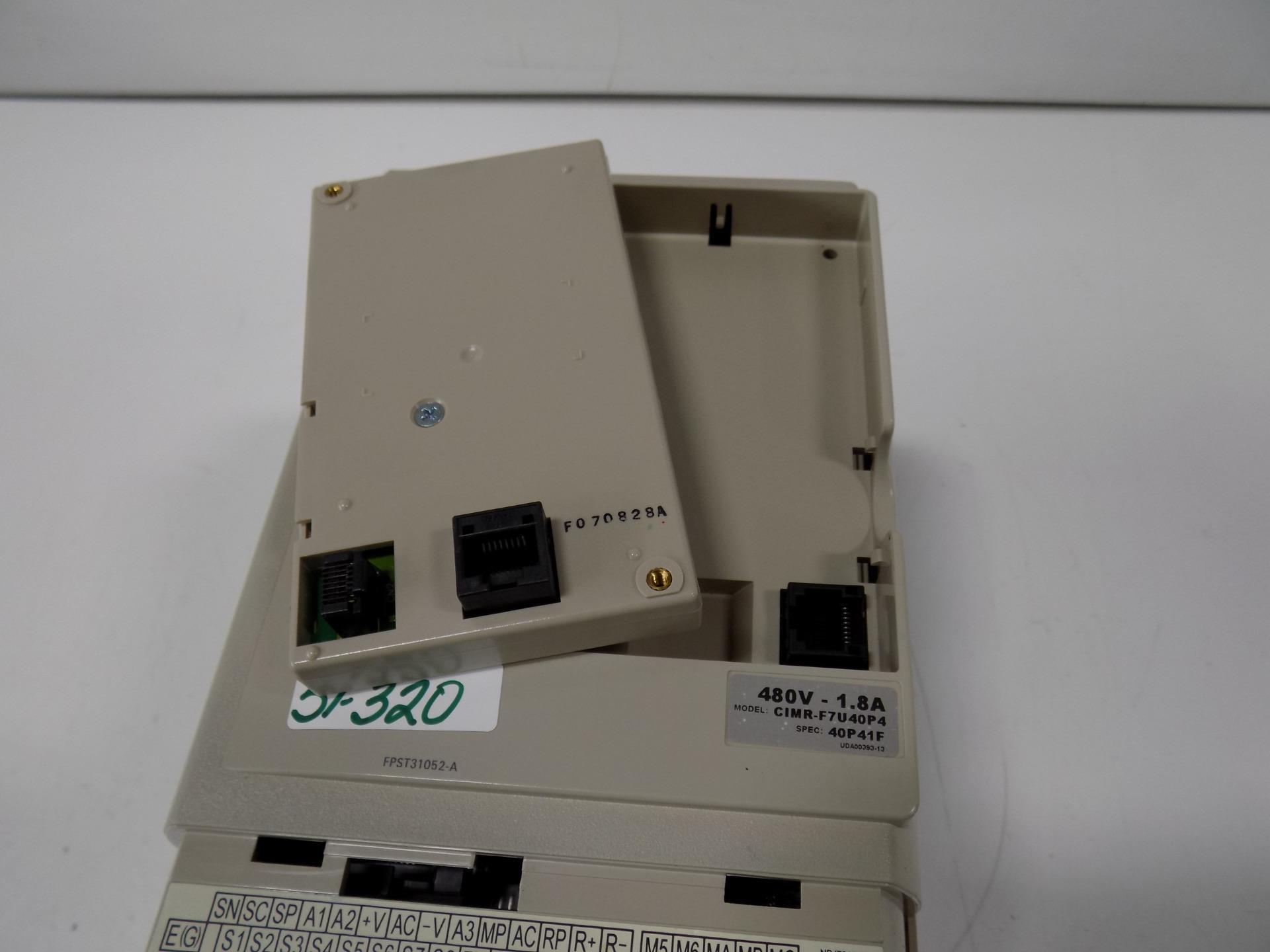 Details about YASKAWA VARISPEED F7 480V-1 8A AC DRIVE CIMR-F7U0P4
