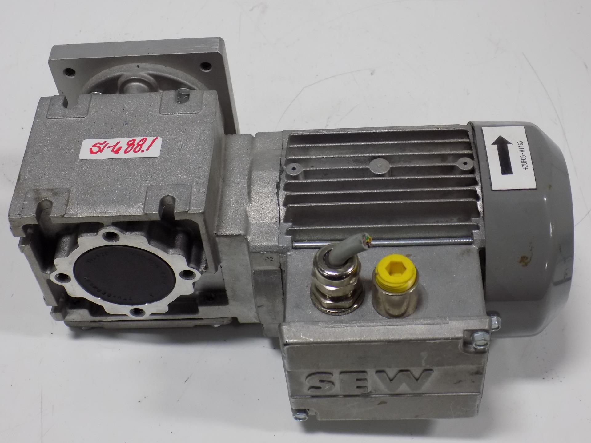 Sew eurodrive gear motor 3 phase wf10dt56m4 ebay for Sew eurodrive gear motor
