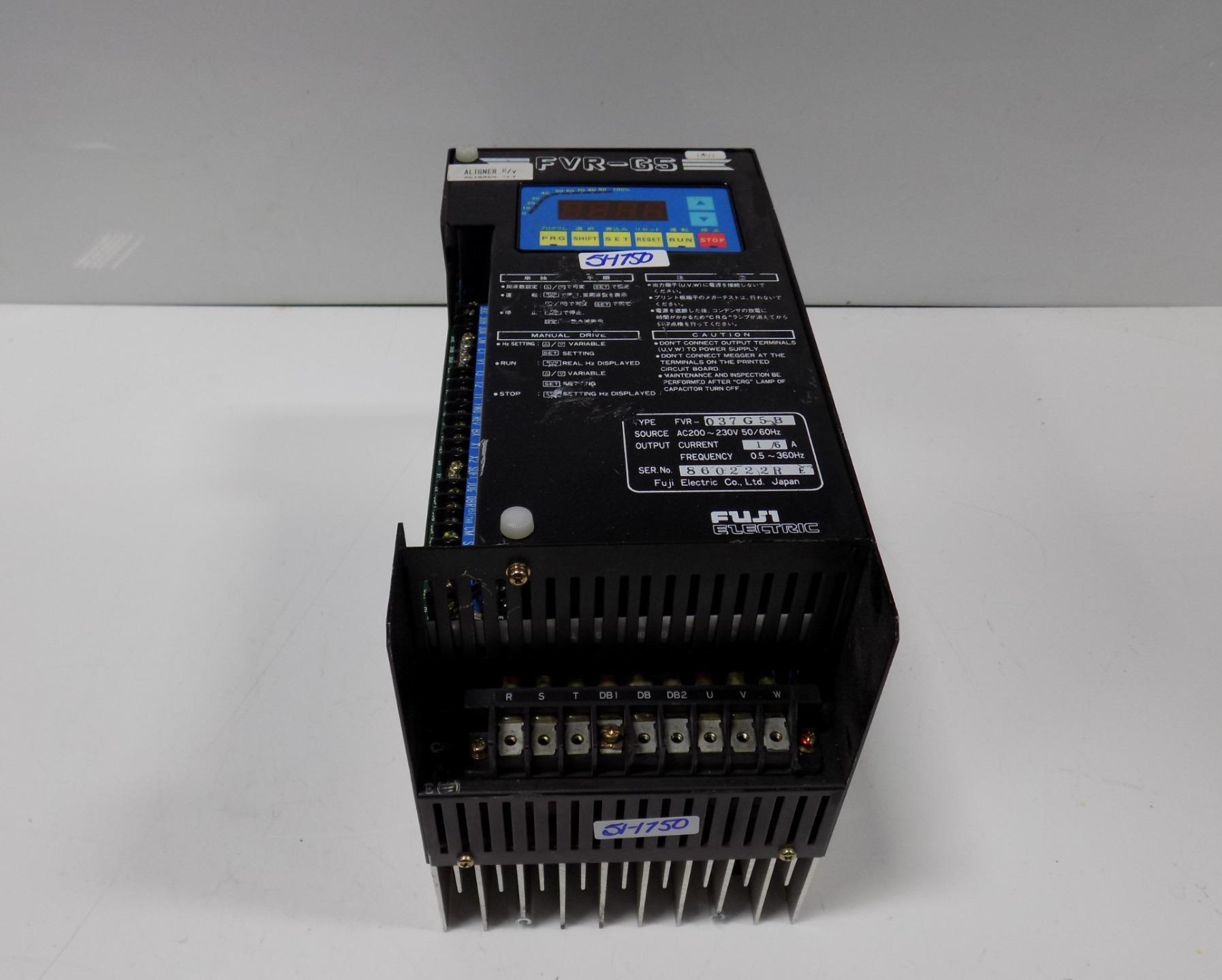 Fuji Electric Variable Frequency Drive Fvr 037g5b Ebay Printed Circuit Board Technology Conceptual A Message From The System Admin Of Concepts Industrial We Are Taking Some Maters Into Our Own Hands Regarding