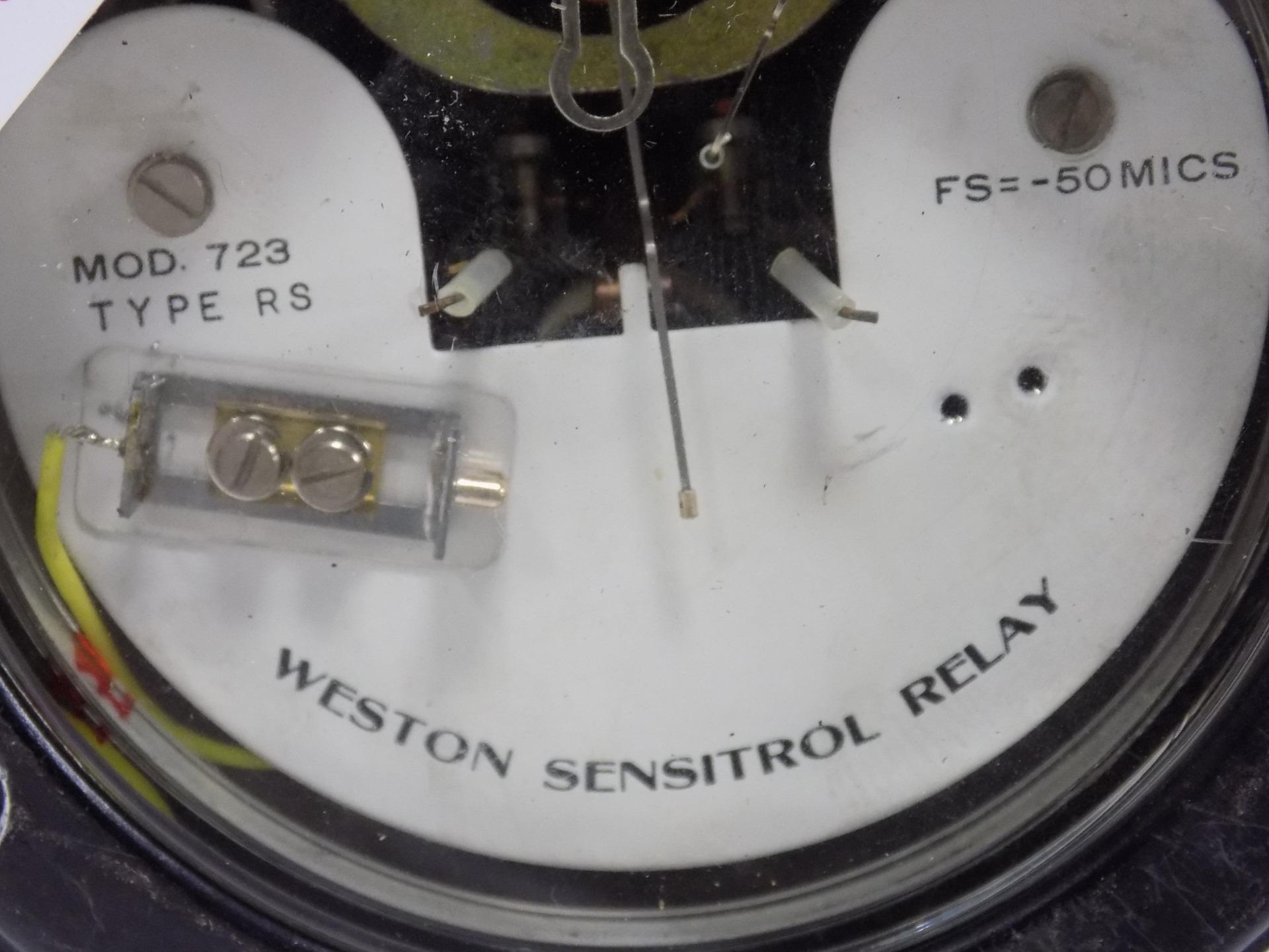 WESTON SENSITROL RELAY MOD 723