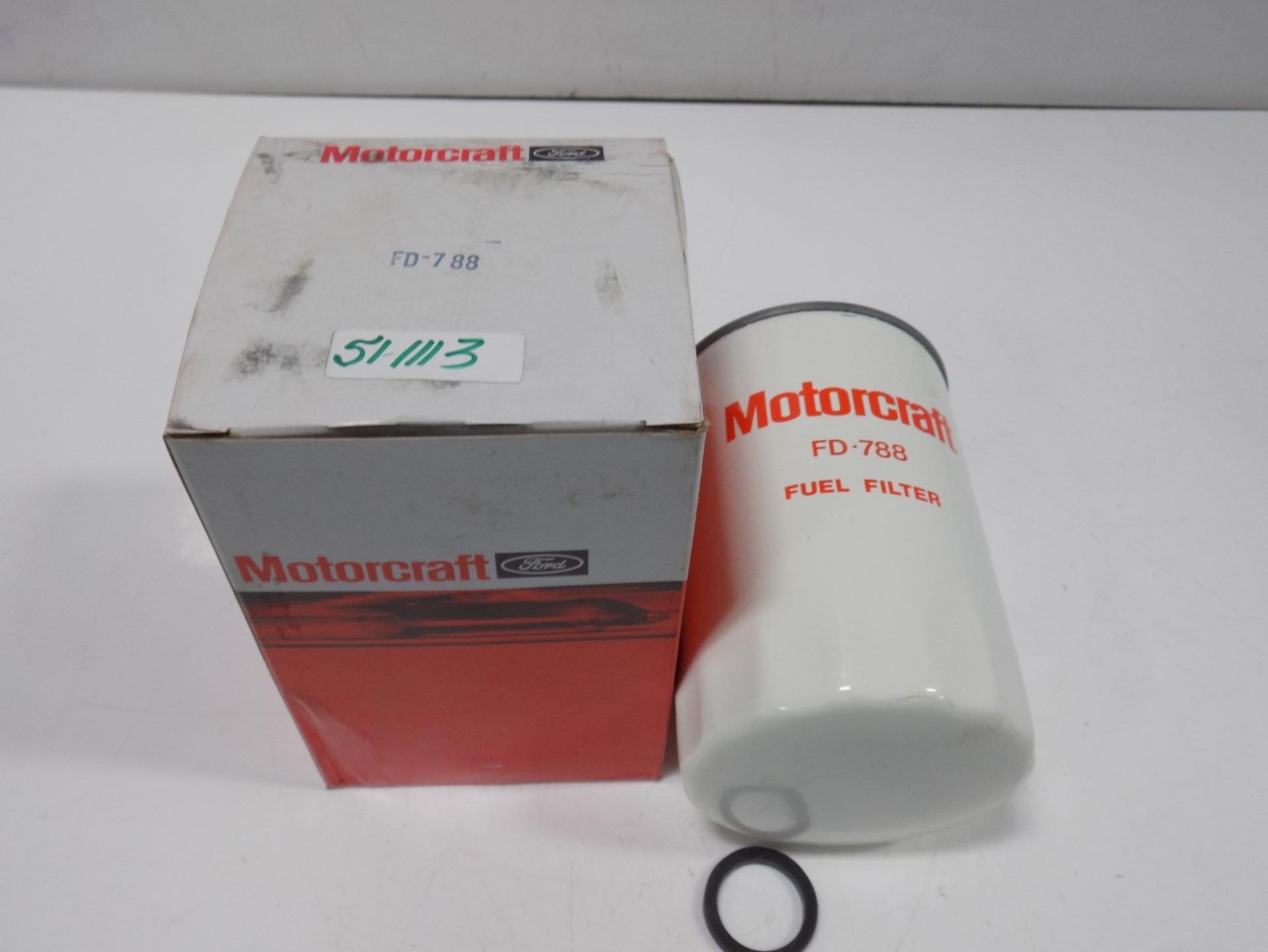 Motorcraft Fuel Filter Fd 788 Nib Ebay 7 3