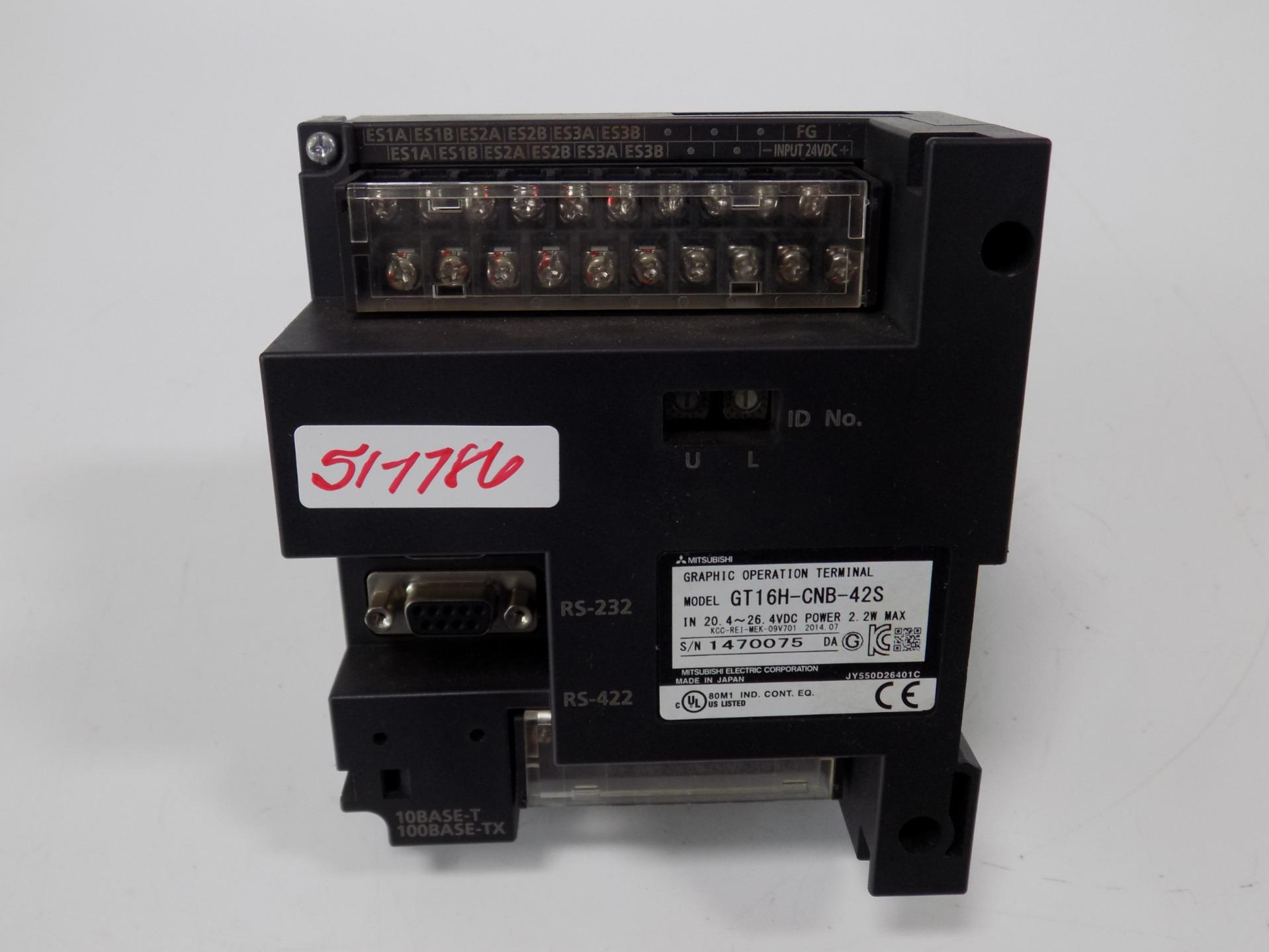 MITSUBISHI COMMUNICATION MODULE  GT16H-CNB-42S