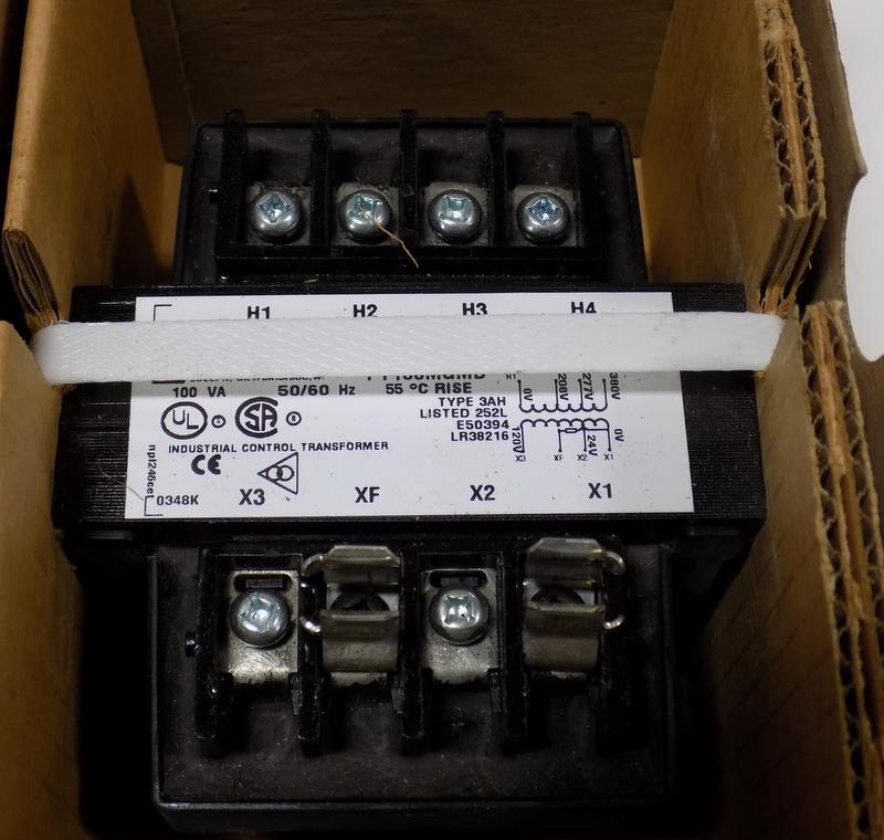 100VA 50//60 Hz Hammond Industrial Control Transformer PT100MQMJ 1PH