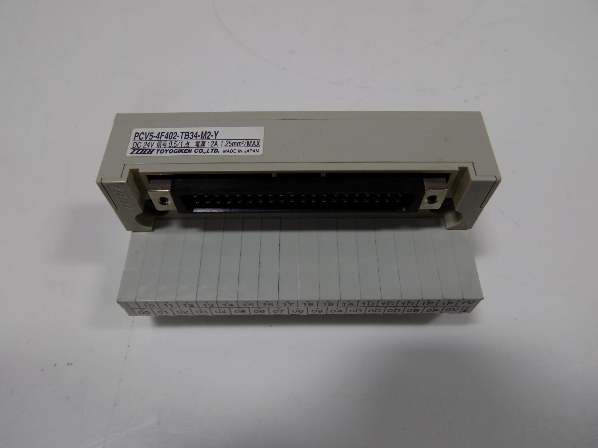 TOYOGIKEN TERMINAL BLOCK PCV5-4F402-TB34-M2-X