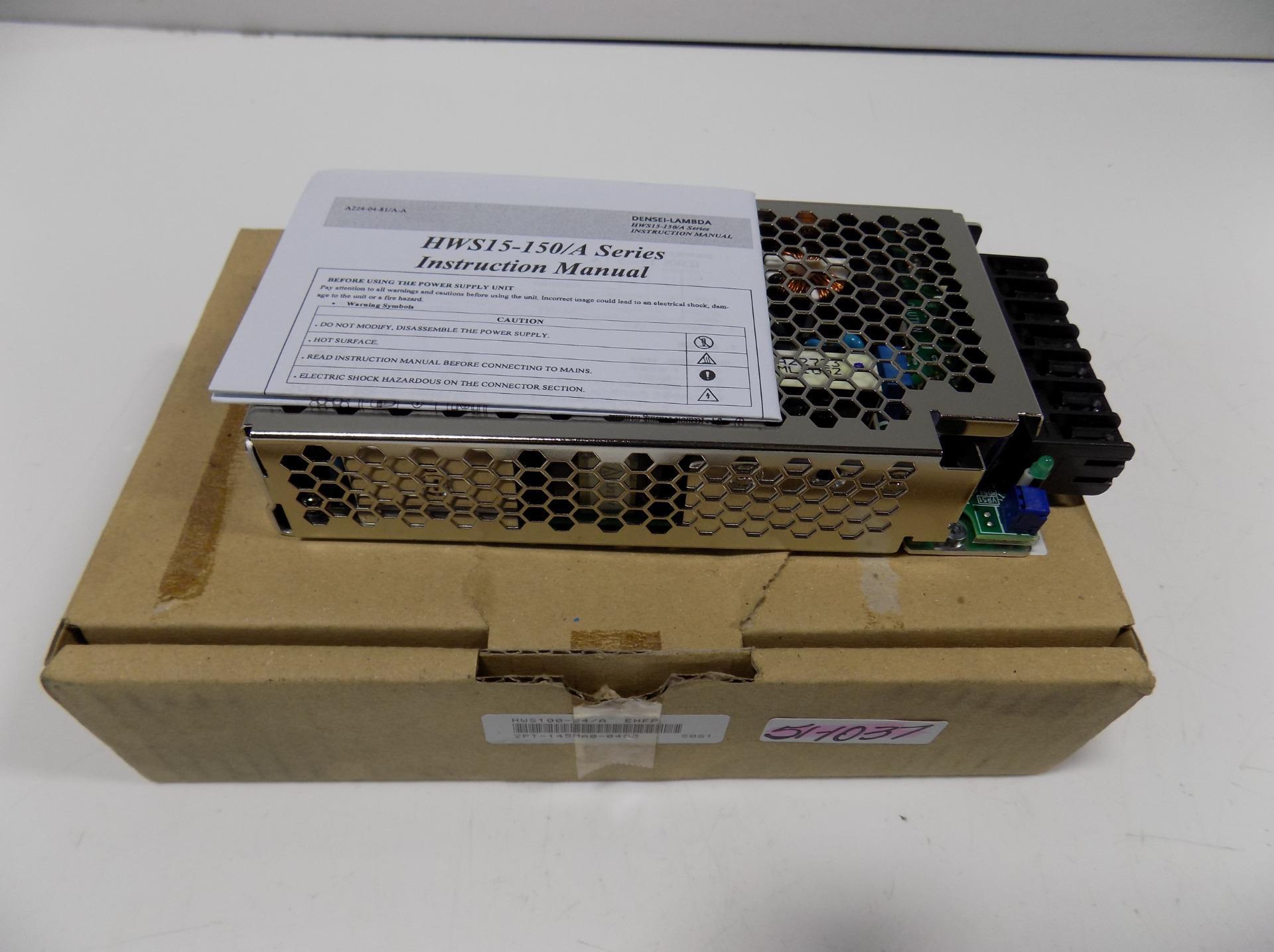 TDK LAMBDA AC/DC POWER SUPPLY HWS100-24/A NIB | eBay