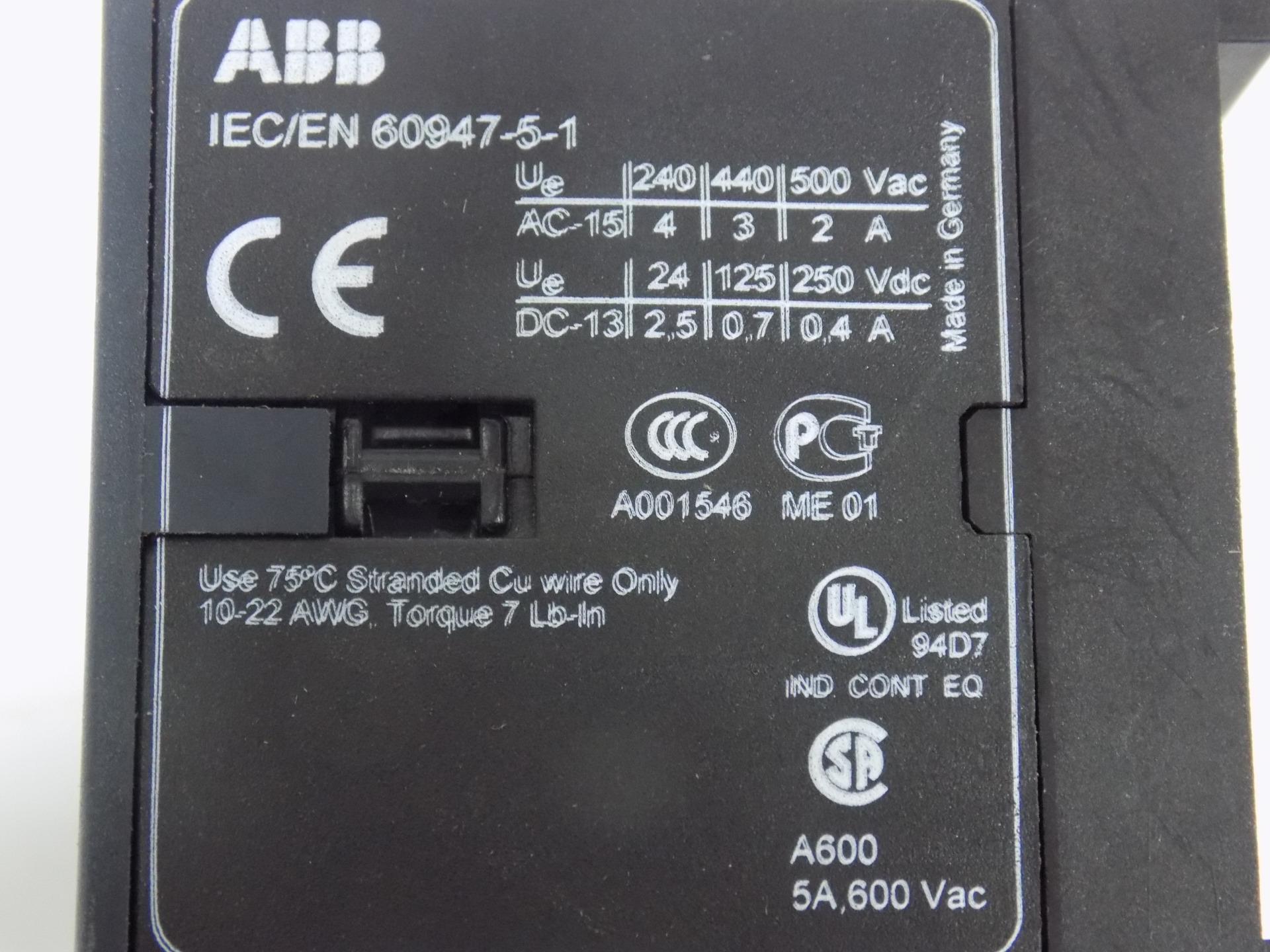 Abb Relay Kc6 22z Ebay Solid State Z240d10 Lsjch07052017 Shelf51 18192 Jobcodemk60117