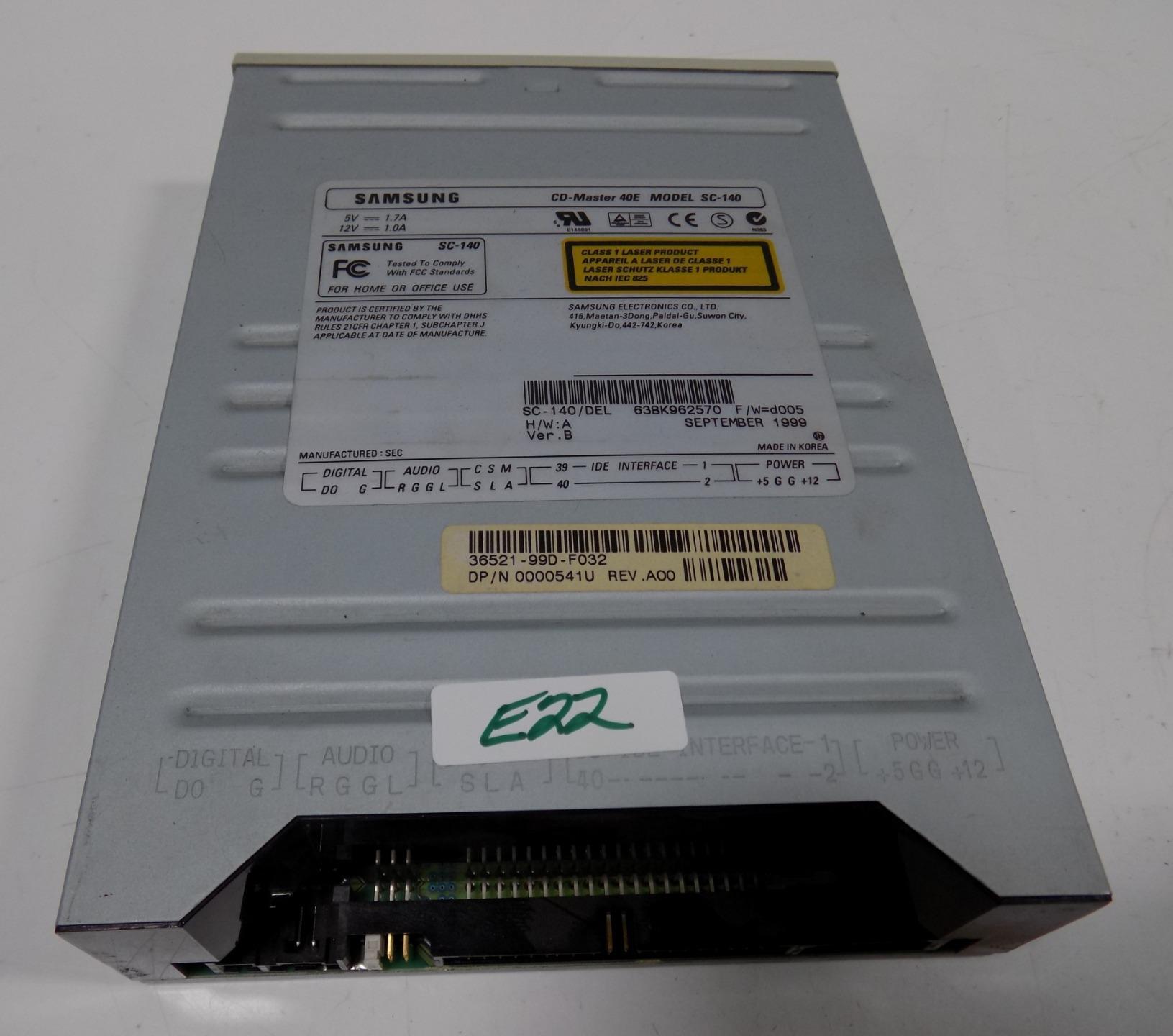 samsung cd master disc drive 40e sc 140 ebay rh ebay com