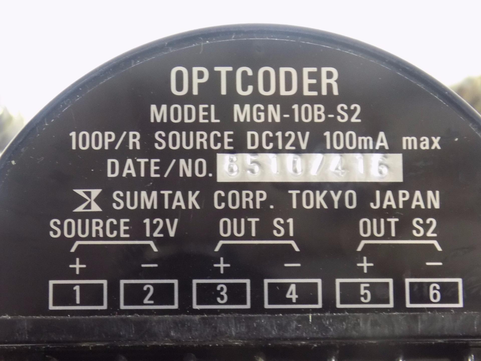Used Warranty MGN-10B-S2 Sumtak Pulse Generator Optcoder