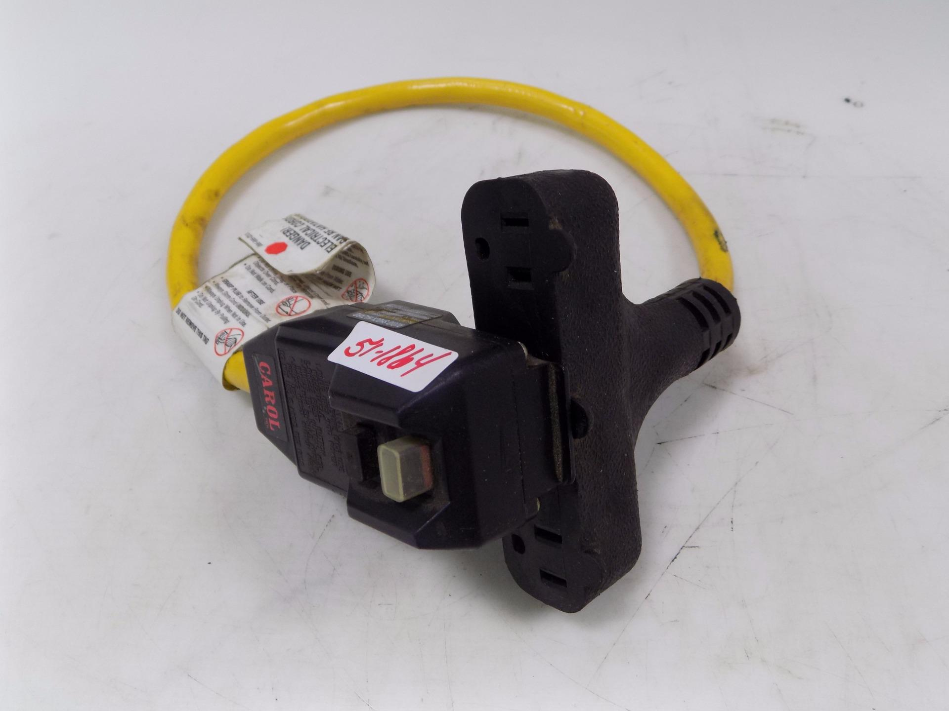 Carol Cable Ground Fault Circuit Interrupter 50 0110 00201 Ebay Corole Fuse Box Toyota Parts