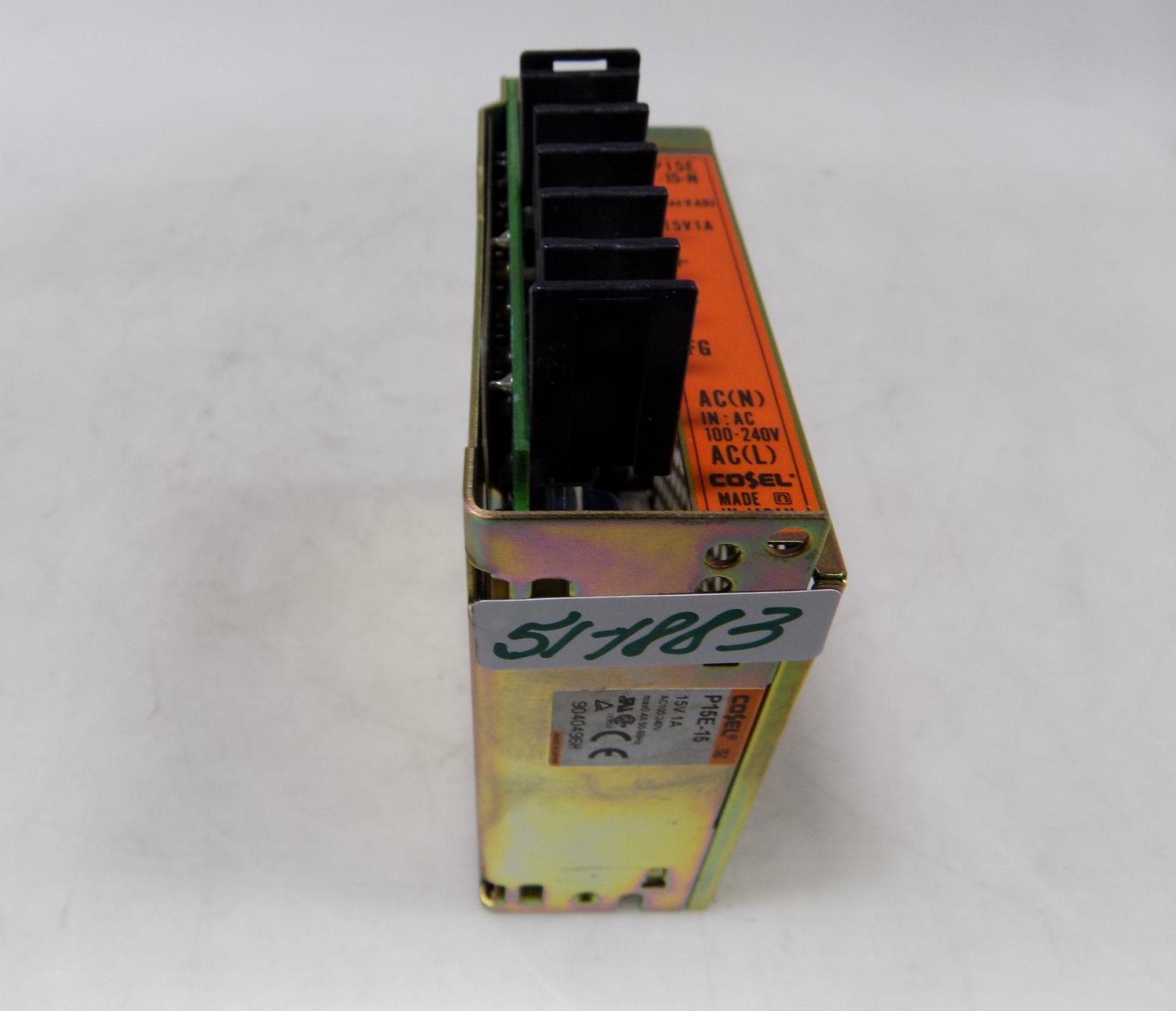 Cosel P15E-5 Power Supply AC100-240V #27A33