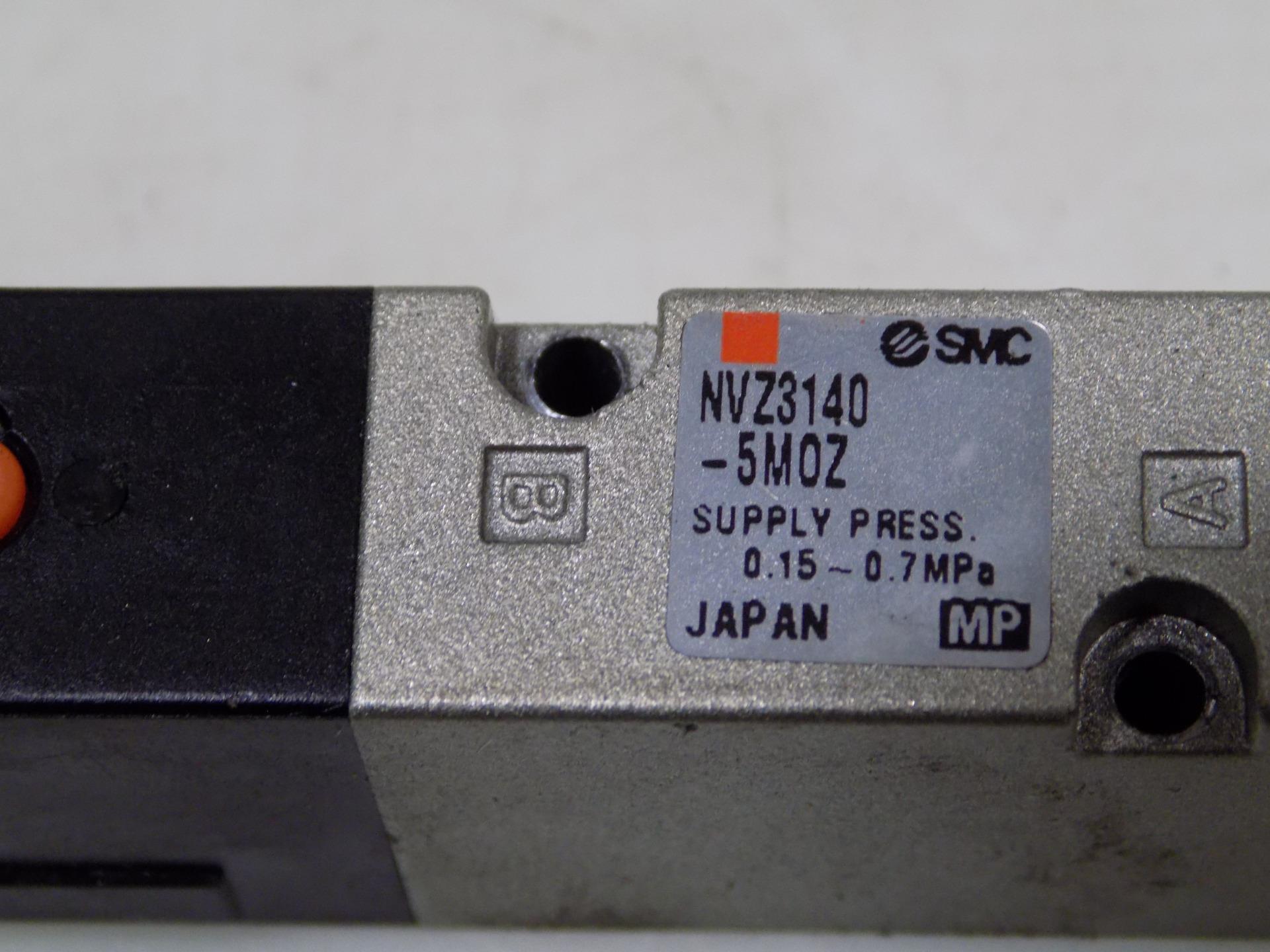 SMC 0.15-0.7MPa SOLENOID VALVE  NVZ3140-5M0Z