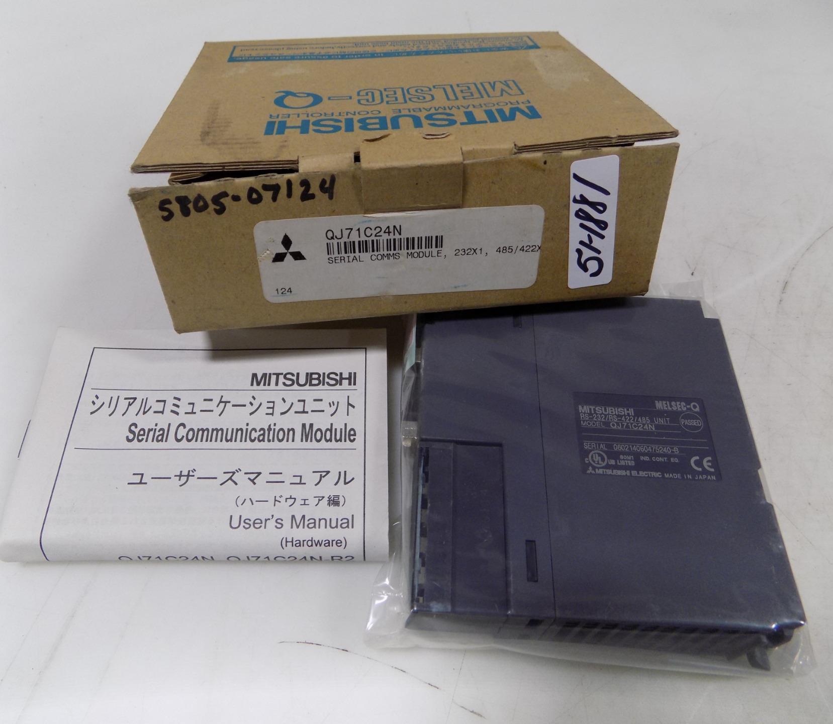 Mitsubishi QJ71C24 RS-232//RS-422//485 RS232 RS422//485 MELSEC-Q
