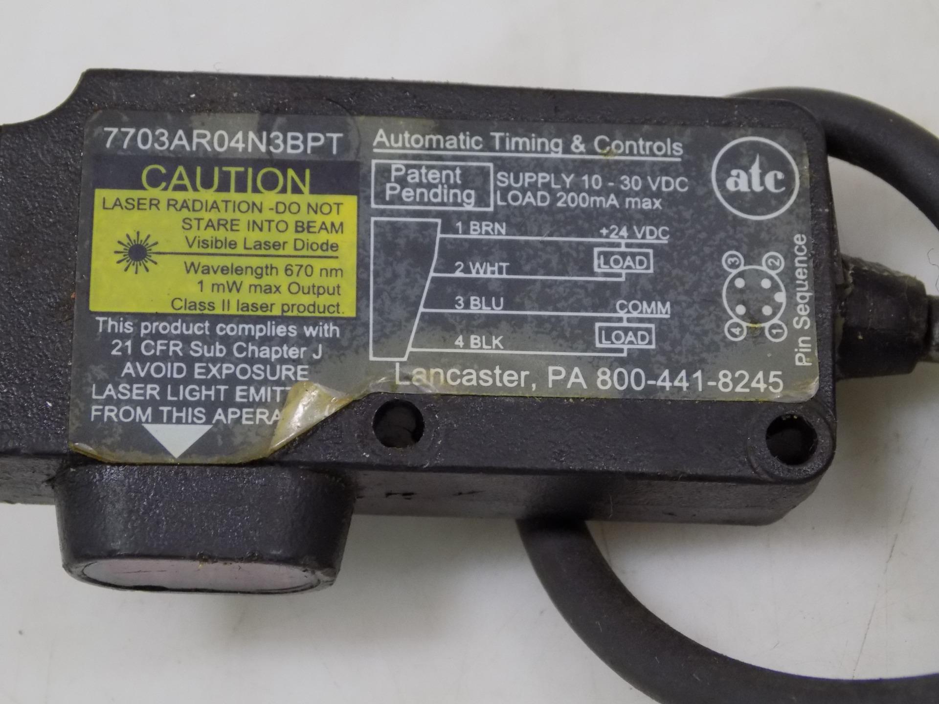 7703AR04N3BPT ATC 7703A R04-N3B-PT LASER PHOTO ELECTRIC SENSOR KIT