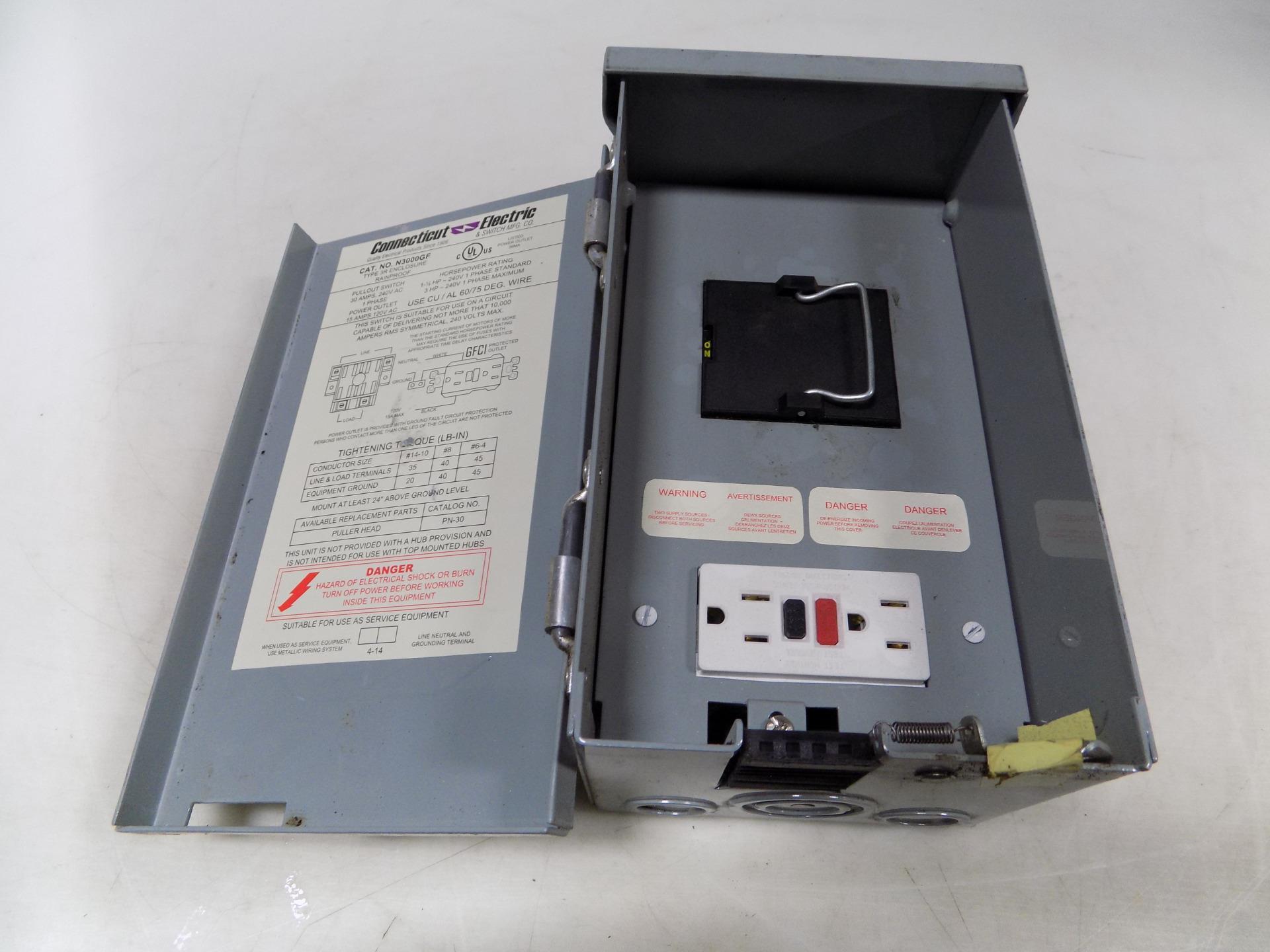 connecticut electric type 3r enclosure rainproof n3000gf nnb ebay rh ebay com