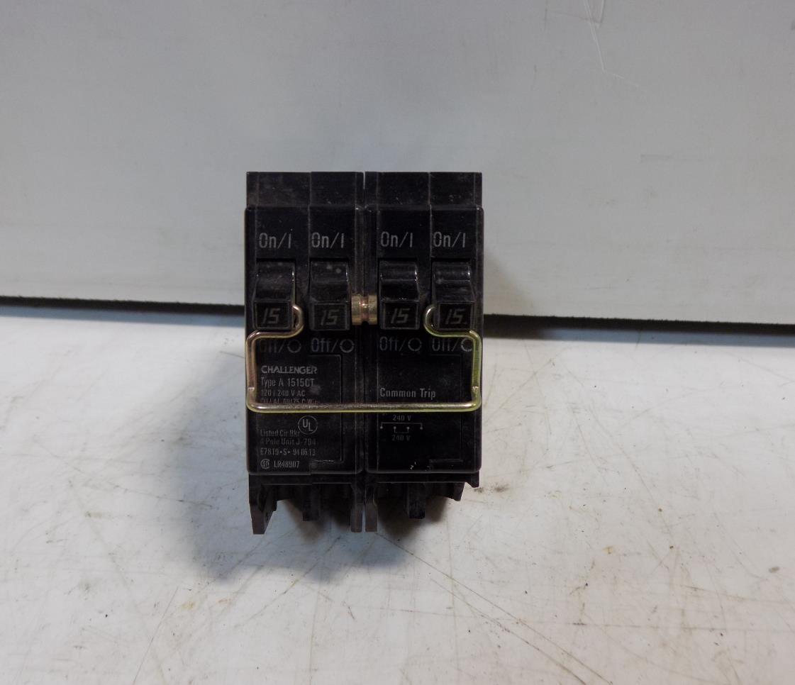 Challenger Two 2 Pole 15amp Multi Breaker 1515ct Ebay Cbb Circuit Board