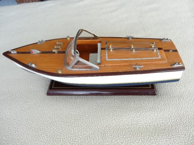 Pontoon Boats With Trolling Motors Wooden Model Power Boat