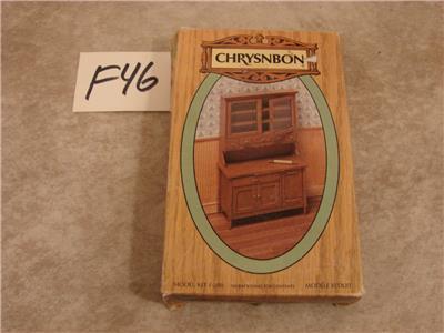 Dollhouse Wood MUG RACK KIT in CHERRYWOOD