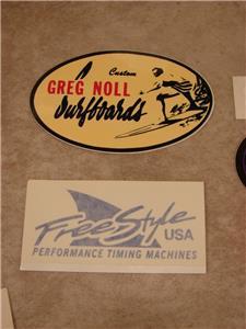 Vintage Surfing Hawaii Greg Noll Surfboards 1967 era V-Wedge Promo Patch