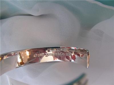 37c768f71 Tiffany & Co Atlas Cuff Sterling Silver Bracelet ©1997 on PopScreen