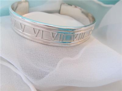 382ab2d3f Tiffany Co Atlas Cuff Sterling Silver Bracelet ©1997 on PopScreen