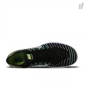 31748e1c11a7 STYLE  FREE RUN FLYKNIT IN BLACK VOLT LAGOON BLUE WHITE Nike Free RN (Run)  Flyknit has a natural fit and a dynamic flexibility. The Flyknit upper