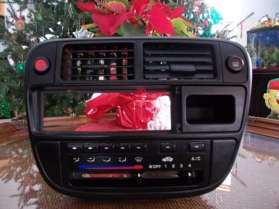 1997 Honda Civic 96 97 98 Radio Dash Bezel Trim Vents Heater Control