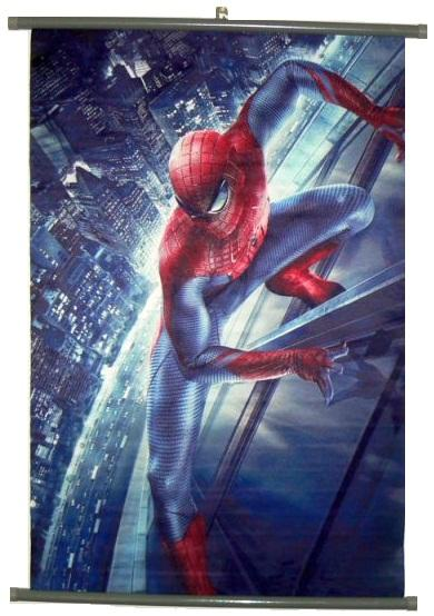Spiderman Movie Fabric Wall Scroll Poster Spider Man Wall