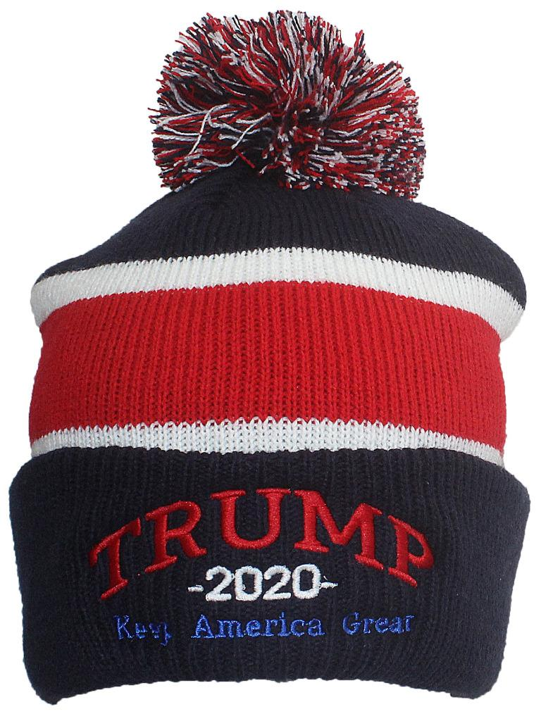 Beanie Hat MADE IN USA Exclusive Trump 2020 Keep America Great Beanie-Red