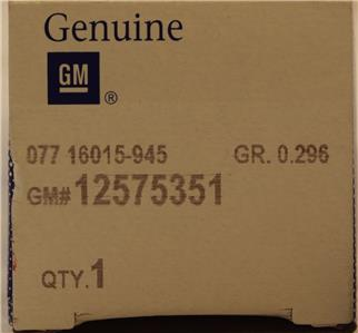 GM OEM-Engine Intake Valve 12575351