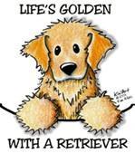 Golden Retriever Dog Tshirt Nightshirt 7424 Kiniart pet