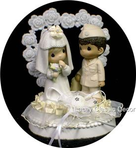 precious moment marine wedding cake toppers precious moment wedding cake topper my 2 18706