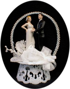 pregnant wedding cake toppers beautiful expecting baby wedding cake 18719