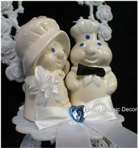 pillsbury wedding cake pillsbury dough boy amp wedding cake topper top new ebay 18521
