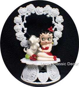 betty boop wedding cake topper betty boop wedding cake topper engagement top ebay 1698