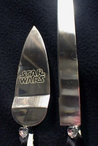 star wars wedding cake knife war wedding cake topper darth vader lot glasses knife 20507