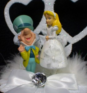 mad hatter wedding cake toppers in mad hatter wedding cake topper new ebay 16979
