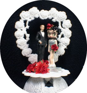 betty boop wedding cake topper betty boop silver wedding cake topper lot knife 1698