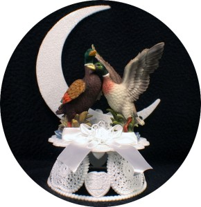 duck hunting wedding cake toppers mallard duck wedding cake topper god beautiful nature 13777