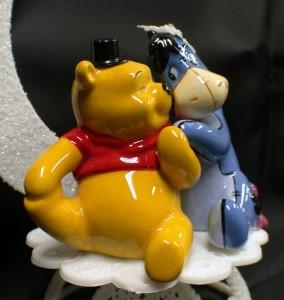 Eeyore Bride Winnie The Pooh Groom Wedding Cake Topper Horse Top