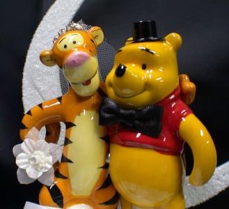 TIGGER Bride & Winnie the Pooh Groom \