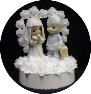 precious moment marine wedding cake toppers precious moments wedding cake topper soldier 18706