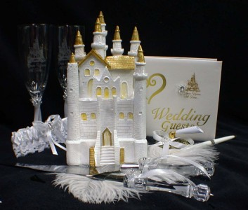 Fairytale Castle Cake Toppers Uk