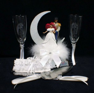 Special Listing Kismal4 Mermaid Wedding Cake Topper