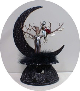 wedding cake toppers nightmare before christmas nightmare before wedding cake topper lot glasses 26553