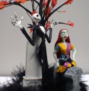 Nightmare before Christmas Wedding Cake topper Sally Jack ...