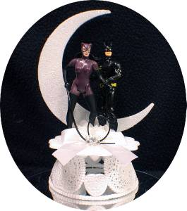 batman wedding cake toppers uk batman catwomen whip d c comic wedding cake topper 11133