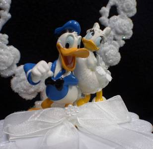 duck wedding cake toppers uk donald duck disney lot wedding cake topper knife 13779